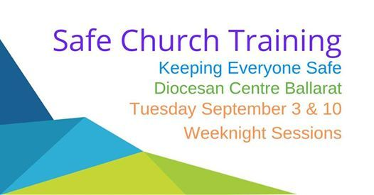 Safe Church Training: Diocesan Centre at Anglican Cathedral
