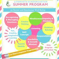 Liferoots Kindergarten Summer Program