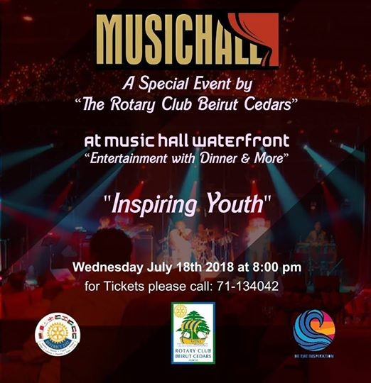 A special event at the Music Hall