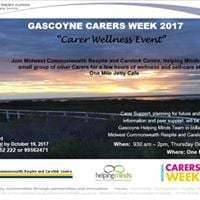 Carers Wellness Event 2017