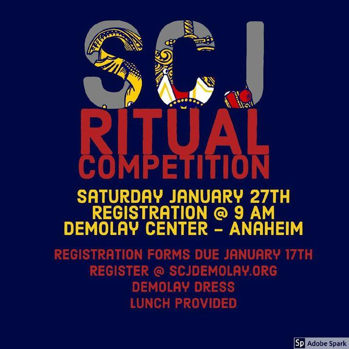 SCJ Ritual Competition