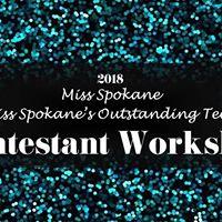 Miss Spokane &amp Outstanding Teen Workshop