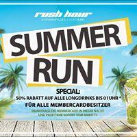 Summer Run - Longdrinkspecial (50% Rabatt  23h - 01h)