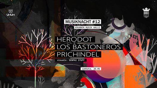 Musiknacht 12 Herodot Prichindel Los Bastoneros - 26.01