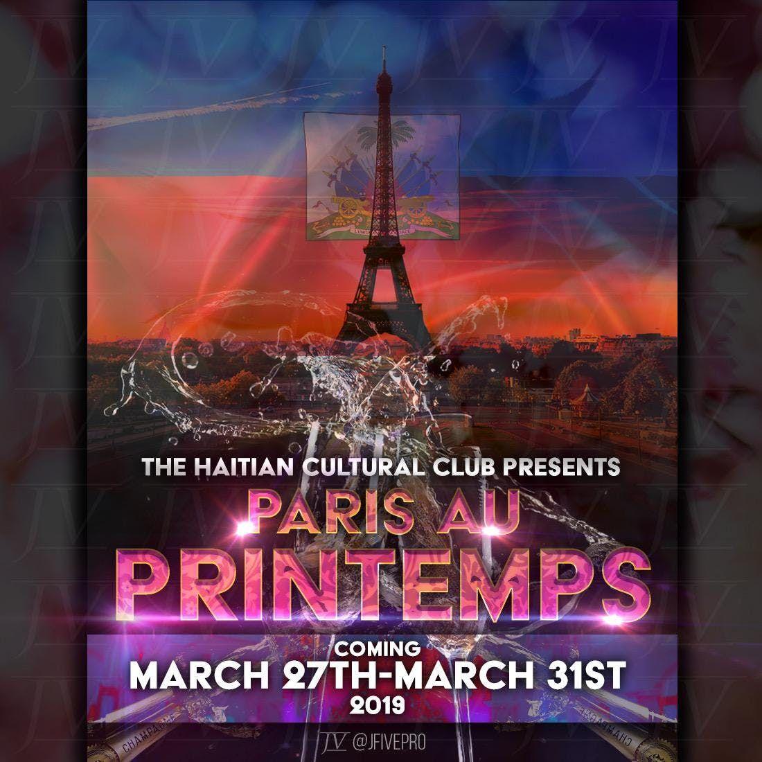 The Haitian Cultural Club Mini Week - Paris Au Printemps
