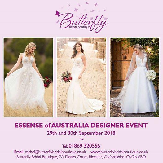 4acde4e28a09 Essense of Australia Designer Event at Butterfly Bridal Boutique ...