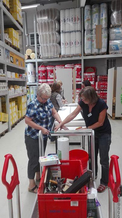 Workshop Tapezieren und Malen