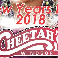 New Years Eve At Cheetahs Of Windsor