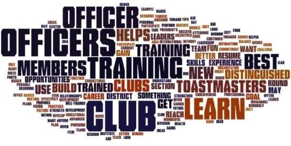 Last Chance Toastmasters Club Officer Training Day
