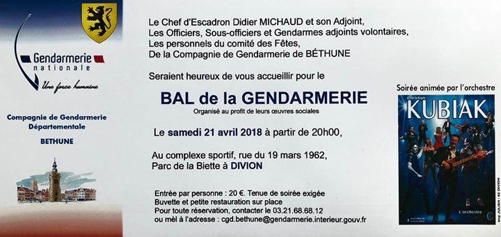 BAL De La Gendarmerie at Complexe Sportif de Divion, Pas-de-Calais