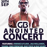 GB Anointed EP Concert