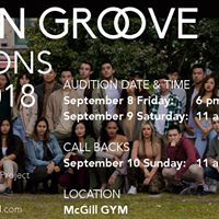Urban Groove Auditions 201718