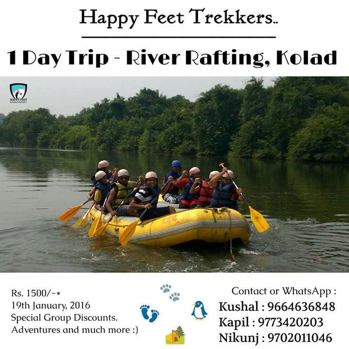 Kolad River Rafting - 1 day trip.