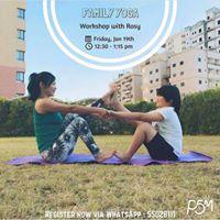 Activity Family Yoga
