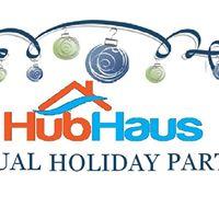 La community hubhaus 2017 potluck holiday party