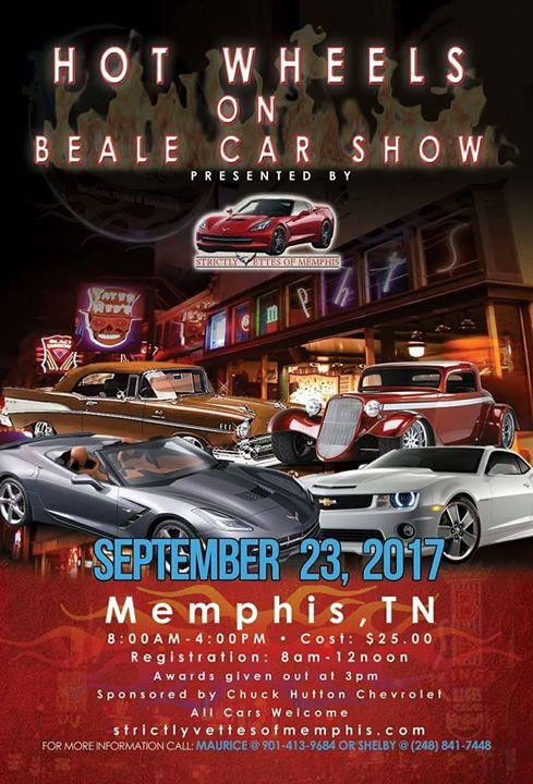 Hot Wheels On Beale Car Show At Beale Avenue Beale Street Memphis - Car show memphis tn