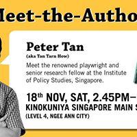 Meet Peter Tan Author of Sengkang Snoopers