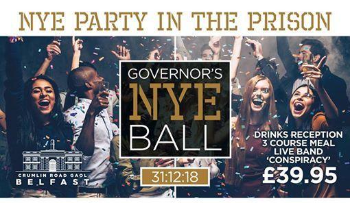 The Governors NYE Ball