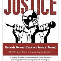 Usamah Ansari Creative Justice Award