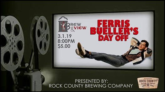 Brew & View Ferris Buellers Day Off