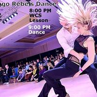 Chicago Rebels Dance - Doug Rousar Teaches West Coast Swing