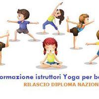 Corso Istruttore Yoga per bambini