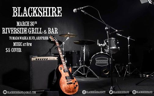 Blackshire turns up the heat at the Riverside Bar and Grill
