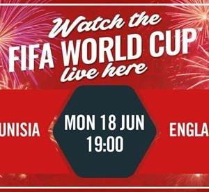 World Cup  Tunisia vs England