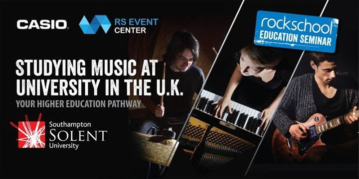Rockschool Education SeminarStudying Music at University in UK