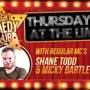 Comedy Club 18th April - Five acts this week