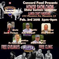 Honor Show Success Seminar- Alameda County Fair