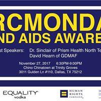 HRC Monday HIV and AIDS Awareness