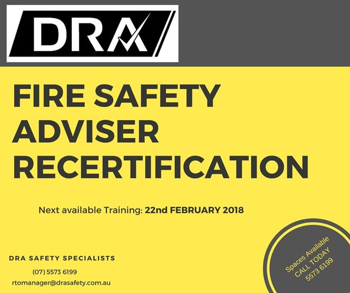 FSA Re certification Training Course at Links Hope Island, Gold Coast