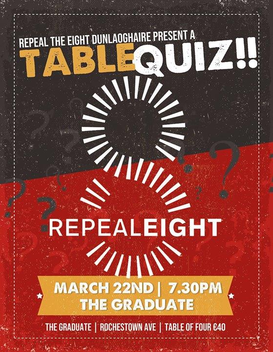 Repeal Eight Pub Quiz
