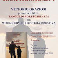 Vittorio Graziosi Workshop scrittura e pres. suo libro