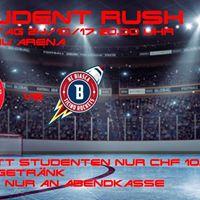 EHCW vs Ticino Rockets inkl. Student Rush