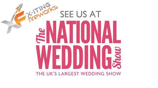 X-iting Indoor Fireworks at the National Wedding Show