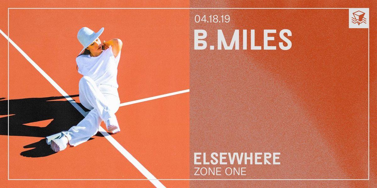 B.Miles  Elsewhere (Zone One)