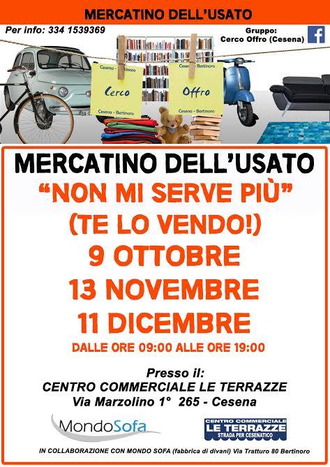 Mercatino Dellusato (Gruppo Cerco-Offro Cesena e C.) at Centro ...