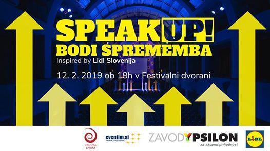 Speak Up 2019 - Bodi sprememba