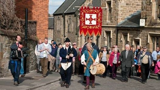 St Cuthbert Day annual walk and procession