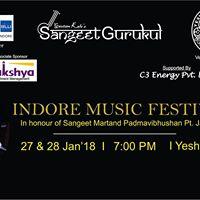 Indore Music Festival -2018