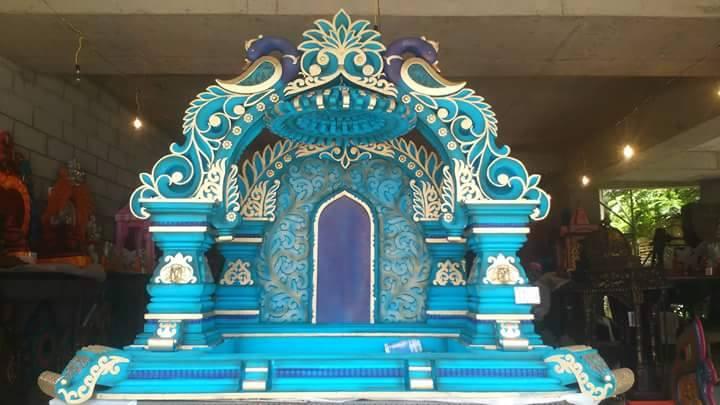 Makhar Exhibition at Rohit Thermocol Ganpati Decorations ...