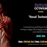 Vocal Techniques by Divya R.T