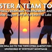 Beach Volleyball and Bags for Habitat for Humanity