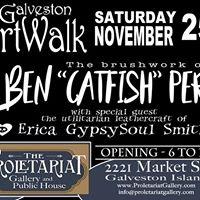 ArtWalk featuring Ben &quotCatfish&quot Perez