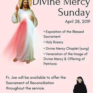 2019 Divine Mercy Sunday