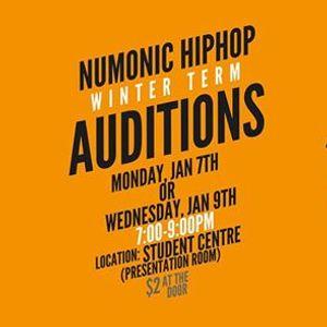 NuMonic Hip Hop 2019 Winter Auditions