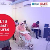 IELTS Crash Course - (16 Hour 4 Classes 1 Free Mock Test)