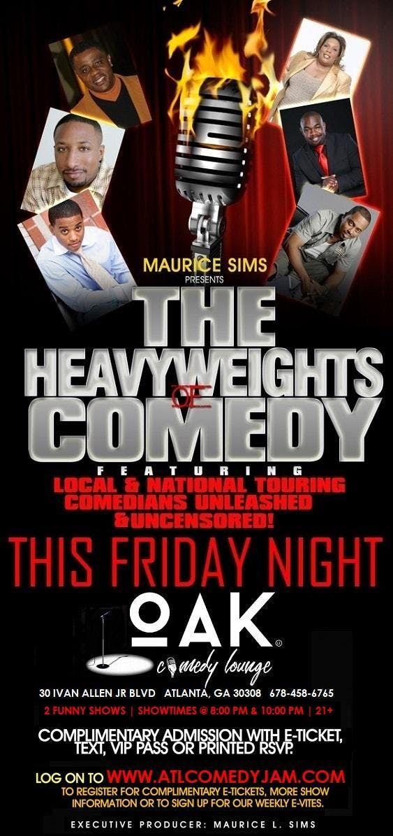 Heavyweights of Comedy Fridays